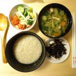 ファスティング準備食レシピ(夜)