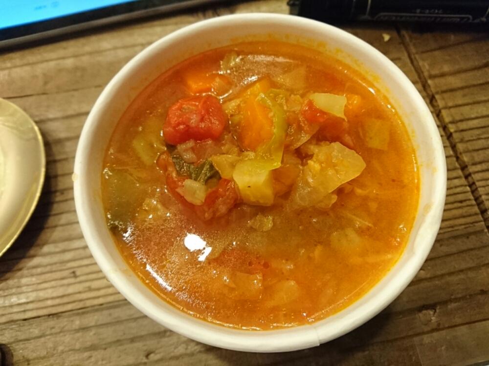 デトックス野菜スープ
