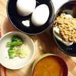 糖質制限2日目おうち朝ご飯レシピ