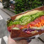 ギンザシックスで糖質制限! MEAT&GREEN旬熟成で野菜サンド。夜はマック